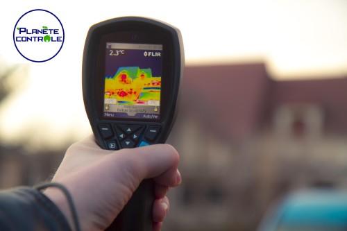 camera thermique planète contrôle
